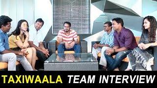 Taxiwaala Team Latest Interview | Vijay Deverakonda | Priyanka Jawalkar | Malavika Nair