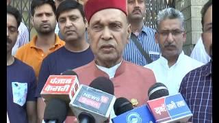 Dhumal on MC shimla election 2