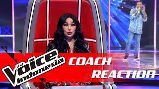 Mirip Iwan Fals, Ini Reaksi Coach Titi DJ   COACH REACTION   The Voice Indonesia GTV 2018