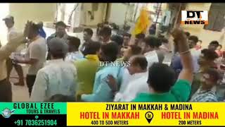 MIM Zindabad Chanted On The Rally of Mohd Ghouse Congress MLA Candidate- DT News