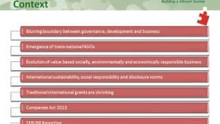 2014 10 21 11 06 Mastering CSR  CII   Online Certificate Course on CSR – 2014 Session 11