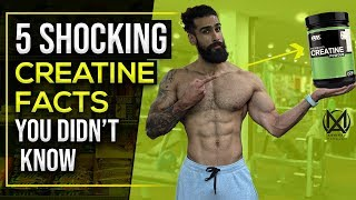 CREATINE MONOHYDRATE - 5 SHOCKING FACTS | Timing, Mixing, Bloating, Safety and Fat Loss