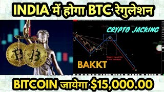 CRYPTO NEWS 224    BITCOIN कब होगा लीगल, BTC 15000.00 USD कब जायेगा, BAKKT POSTPONED   MONEY GROWTH