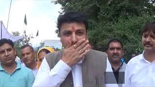 Dharamshala Sudhir respond BJP