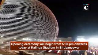 Men's Hockey World Cup: Preparations for opening ceremony in full swing