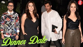 Anil Kapoor Ekta Kapoor and Others Spotted on a Dinner Date