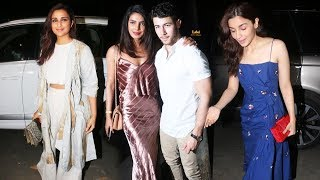 Priyanka Chopra And Nick Jonas Pre-Wedding Dinner Party