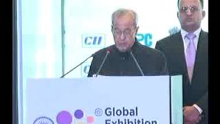 Address by Shri Pranab Mukherjee, President of India at Global Exhibition on Services