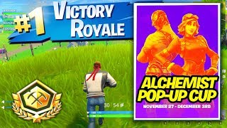 Win all Alchemist Pop up Cup Competition Matches in Fortnite Season 6