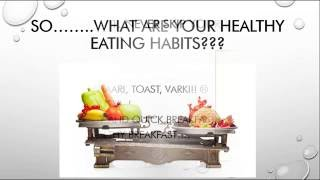 LEARN TO EAT RIGHT, NOT TO EAT LESS