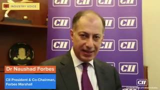 Dr Naushad Forbes, President, CII speaks on Investment trend in the Country.