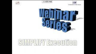 'Driving Organisational Effectiveness -  Session 7  Simplify Execution
