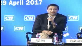 Shri Amitabh Kant, CEO, NITI Aayog addressing CII Annual Session 2017