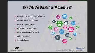 CII TFC Webinar on 'Small Business CRM: A Must For Scalability and Growth'