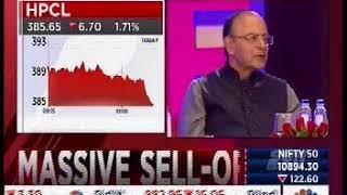 Mr Chandrajit Banarjee, DG, CII Asking Question on Budget 2018 from Shri Arun Jaitley at CNBC TV 18
