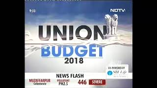 Ms Shobana Kamineni, President CII Responding on Union Budget 2018 at NDTV