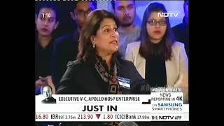 Ms Shobana Kamineni, President, CII Sharing Overall Take on Budget 2018 at NDTV