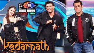 Sushant Singh Rajput And Sara Ali Khan On Salman Khan's Bigg Boss 12 Weekend Ka Vaar | Kedarnath