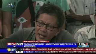 Rocky Gerung Mangkir dari Pemeriksaan Kasus Hoax Ratna Sarumpaet