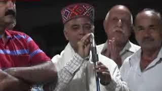 Minister Anil Sharma takes Mata Blessing