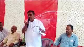 जोलसप्पड़ में जनसभा के दौरान विजय अग्निहोत्री ने सुक्खू व प्रदेश सरकार पर हमला बोला