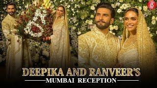 Ranveer Singh and Deepika Padukone look like a dream at their Mumbai Reception