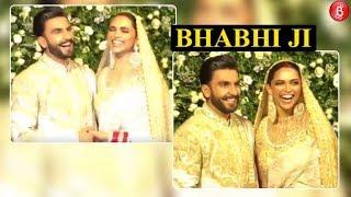 WATCH how Ranveer Singh reacted when someone called Deepika as 'BHABHI JI'