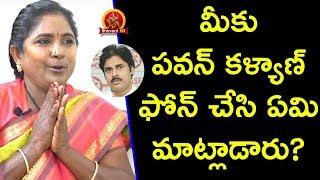 పవన్ కళ్యాణ్ గారు నాకు కాల్ చేసి.... - Village Singer Baby Exclusive Interview - Swetha Reddy