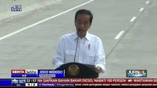 Jokowi Resmikan Jalan Tol Solo-Ngawi