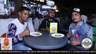 BHUKKAD CHALLENGE EPISODE 3 | DELHI FOOD TRUCK FESTIVAL SEASON 3 I 2018 I 14th, 15th, 16th DECEMBER
