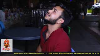 Bhukkad challenge Episode 4 | Delhi Food Truck Festival Season 3 I 2018 I 14th, 15th, 16th Dec