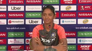 India captain Harmanpreet Kaur pre semi final media interaction