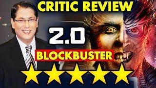 2.0 Movie | Critics Taran Adarsh Review | Blockbuster Movie 5 Stars | Akshay Kumar, Rajinikanth