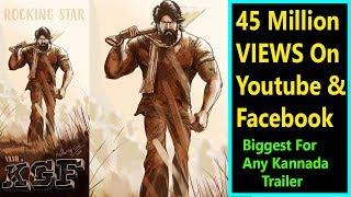 KGF Trailer Crosses 45 Million Views On Social Media It Is Biggest For Any Kannada Trailer