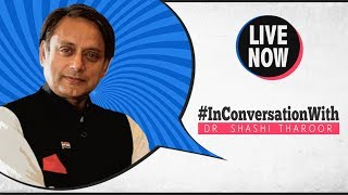 LIVE: InConversationWith Dr. Shashi Tharoor, Member of Parliament & Chairperson, AIPC
