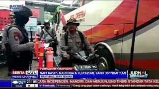 63 Napi Lapas Gunung Sindur Dipindahkan ke Nusakambangan