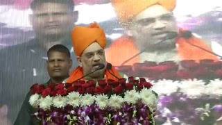 Shri Amit Shah addresses public meeting in Bassi, Rajasthan : 29.11.2018