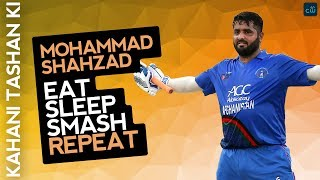 Mohammad Shahzad's IPL dream and secret of hitting sixes #T10league #MohammadShahzad #MSDhoni
