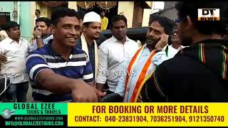 Mohd Ghouse | MLA Candidate | Paidal Daura In Various Parts Of Charminar Constituency - DT News
