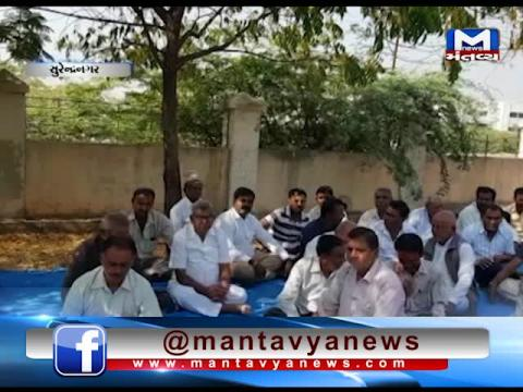 Surendranagar: Farmers' hunger strike for the demand of irrigation water