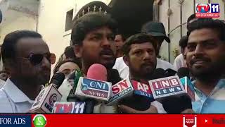 JUBILEE HILLS INDEPENDENT CANDIDATE NAVEEN YADAV ELECTION CAMPAIGN AT SHAIKPET