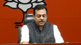 Press Conference by Dr. Sambit Patra at BJP Central Office, New Delhi