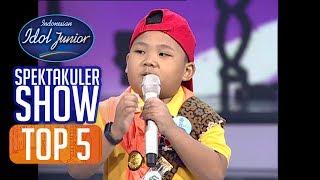 RAKHA - HIDUP UNTUKMU, MATI TANPAMU (Noah) - TOP 5 - Indonesian Idol Junior 2018