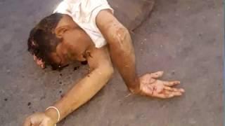 BREAKING सड़क दुर्घटना में दो लोगों की मौत, शव रखकर चक्काजाम।cglivenews
