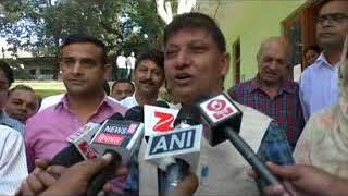सुजानपुर विधानसभा क्षेत्र से कांग्रेस के प्रत्याशी राजेन्द्र राणा ने अपना नामांकन पत्र दाखिल किया