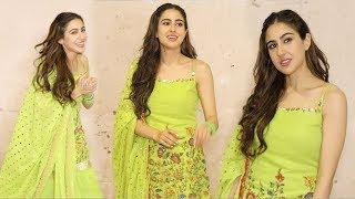 Sara Ali Khan Looks So CUTE During Shoot Of her Debut Film Kedarnath INSIDE Mehboob Studio