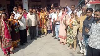 भोरंज विधानसभा में बीजेपी प्रत्याशी कमलेश कुमारी ने अपना प्रचार अभियान तेज कर दिया