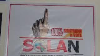 सोलन में शतप्रतिशत मतदान के लिए जिला निर्वाचन विभाग  ने पूरी तैयारियां  कर ली है