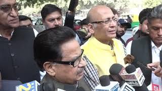 Abhishek Manu Singhvi, PL Punia and Vivek Tankha addresses media after meeting with EC