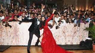 Deepika And Ranveer GRAND ENTRY At Their Mumbai Reception #DeepVeer